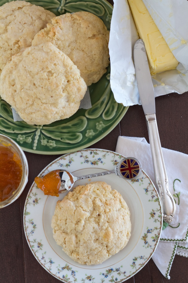 "Buttermilk and Scottish ""tattie"" Potato Scones - Buttermilk Scones"